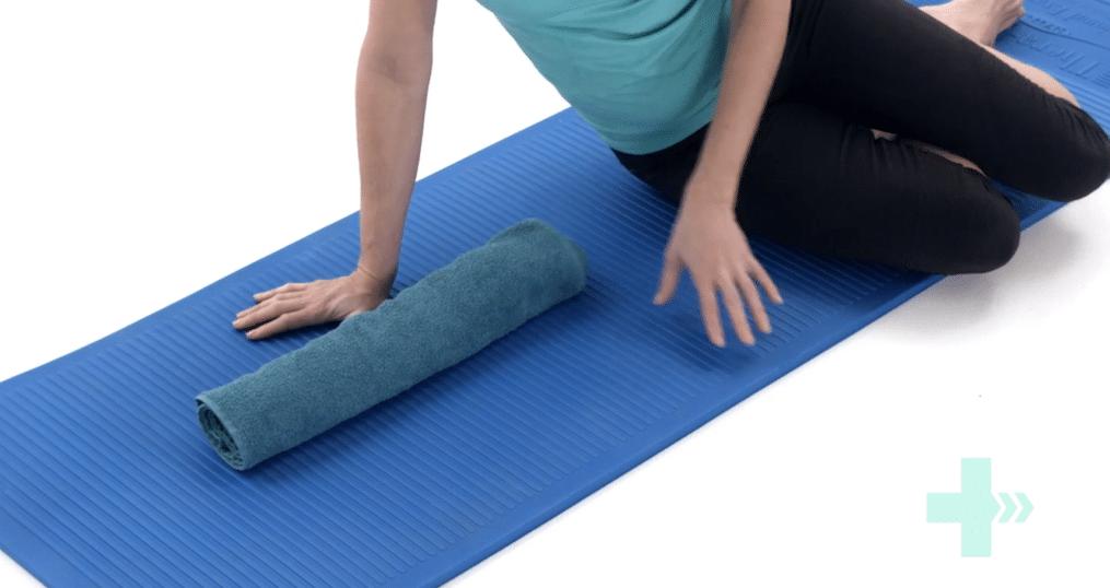 towel stretch