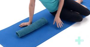 Towel Stretch Bodywell