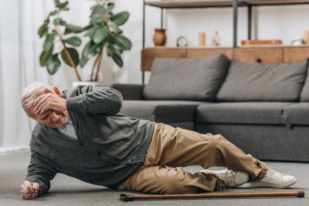 Man Fallen Bodywell