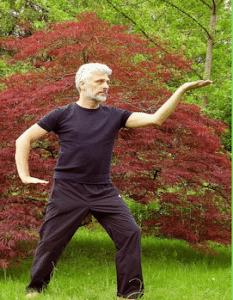 Man doing Tai Chi Bodywell